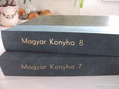Magyar Konyha gasztronómiai újság 7,8 kötet 1999,2002,évi