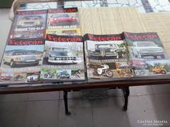 Veterán autó és motor magazin