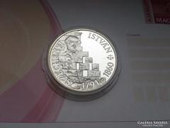 Széchenyi ezüst 500 ft 28 gr 0,900 PP
