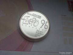EXPO ezüst 500 Ft PP 31,46 0,925