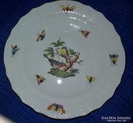 Herendi porcelán ROTHSCHILD mintás tányér