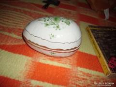Hollóházi  tojásformájú bonbonier