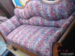 Bieder,antik, kanapé/ kb 150 cm/