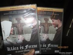Klára és Ferenc / A két Assisi-i szent élete I-II. dvd