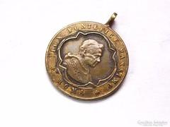 IX,Piusz pápa 8 éves jubileuma 1854-es medál