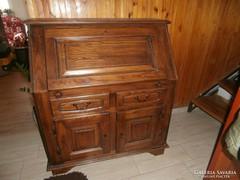 Komód szekreter dió színű bútor eladó