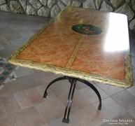 Spanyol asztal és 6 szék
