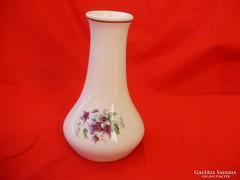 Ritka Anita porcelán ibolyamintás váza