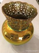 Zsolnay Eozin kosaras,hasad váza eladó.