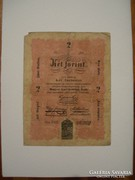 2 Forint 1848.