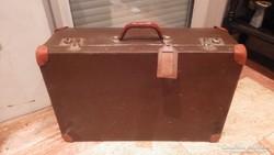 Régi koffer , bőrönd