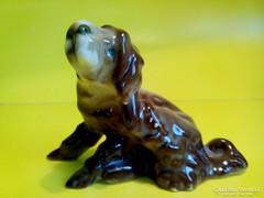 Zsolnay porcelán kutya