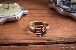Kossuth címeres gyűrű