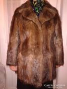 Nemes szörme 42-44-es női téli kabát bunda szőrme