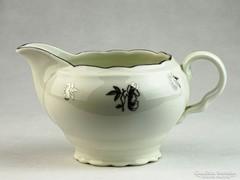 0K492 Régi Cseh porcelán tejszínes kiöntő