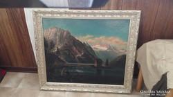XIX.sz-i osztrák festő, olaj-vászon
