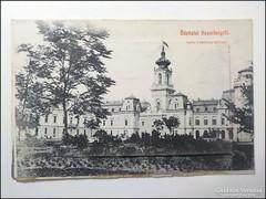 Üdvözlet Keszthelyről kihajtható balatoni képekkel 1913