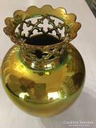Zsolnay Eozin kisméretű koronás váza eladó!
