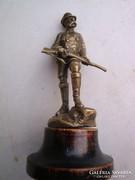 Wiener bronz - I. Ferencz József vadászaton