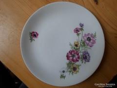 Aranyozott porcelán süteményes tányérok 6 db