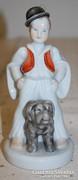 Pásztorfiú - Herendi porcelán figura