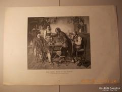 Festményröl készült kép 1880-as évek 1