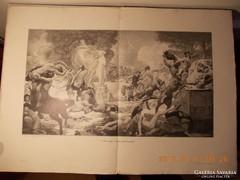Festményröl készült kép 1880-as évek 2