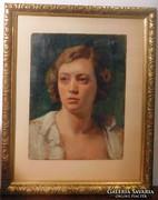 Antik női portré