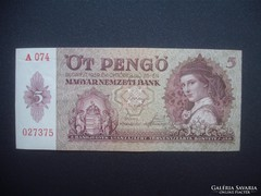 5 pengő 1939 027375