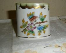 Herendi Victoria mintás porcelán tartó
