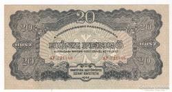20 pengő 1944. V.H. UNC