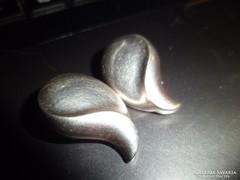 Ezüst fülbevaló/klipsz
