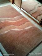 Selyem betétes kézi csomózású nepáli szőnyeg