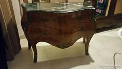 Barokk rokokko kétfiókos komod XVI lajos stilusu