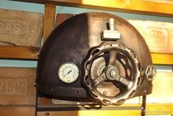 Gőzgép gépház Industrial lámpa Loft ipari gép Steampunk