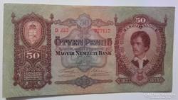 50 Pengő 1932 EF