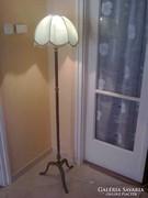 Réz álló lámpa