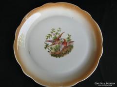 Zsolnay porcelán madaras kínáló tál