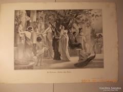Festményröl készült kép 1880-as évek 4