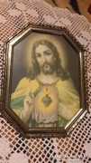 Jézus falikép.