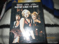 SOME LIKE IT HOT - angol, francia, spanyol nyelvű DVD