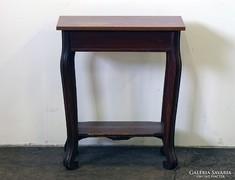 0J860 Régi keskeny előszobai lerakó asztal