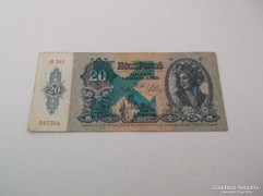 Nyilaskeresztes 20 pengő