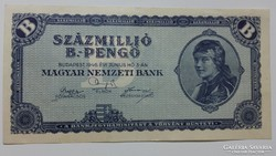 Százmillió B.-Pengő 1946 EF