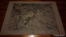 Budapest D (5062) katonai térkép