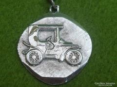 Ezüst autós kulcstartó 9 gr