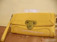 Sárga szép női táska