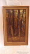 Alak az erdőben olaj - vászon festmény