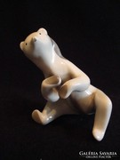 Drasche porcelán medve szobor