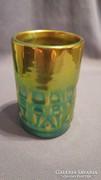 Zsolnay eozinos pohárka